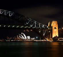 Sydney Harbour Bridge from Blues Point by Martin Pot