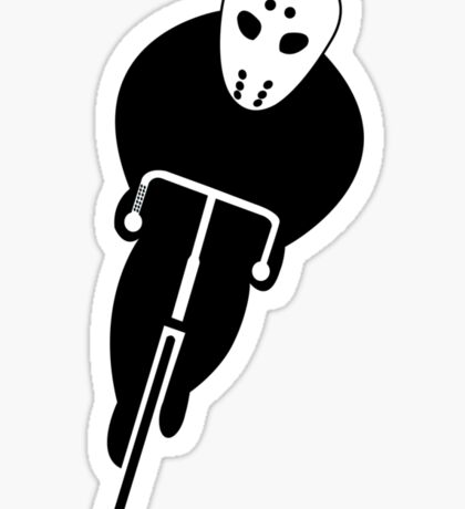 Sinister Cyclist Sticker