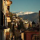 Granada, Spain with Sierra Nevada by Hugh Chaffey-Millar