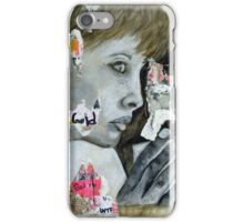 She Was Always Indifferent iPhone Case/Skin