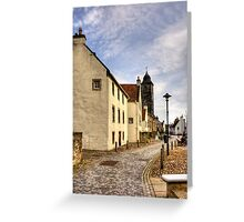 Culross Town Square Greeting Card