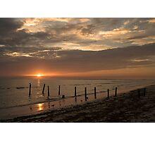 Sunset Pier Photographic Print