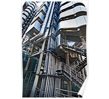 Lloyd's Building detail Poster