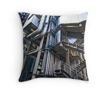 Lloyd's Building detail Throw Pillow