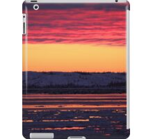 Sunset at Churchill, Canada iPad Case/Skin