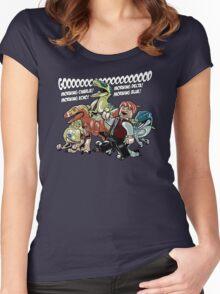 Jurassic World - Good Morning Raptors Women's Fitted Scoop T-Shirt