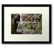"""""""All That is Nature"""" Challenge Banner Framed Print"""