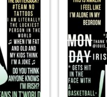 Niall Horan Quotes Sticker