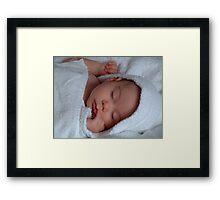 My Sleeping Angel Framed Print