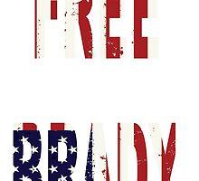 FREE BRADY AMERICAN FLAG by designbook