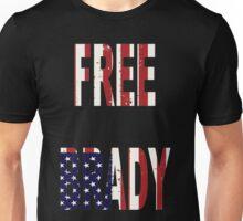 FREE BRADY AMERICAN FLAG Unisex T-Shirt