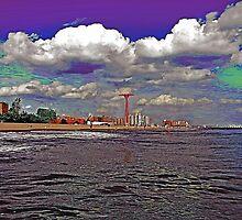 CONEY ISLAND BEACH AND AMUSEMENT PARK by KENDALL EUTEMEY