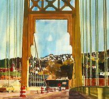 Tenth Street Bridge by Robert Bowden