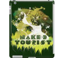 NAKED TOURIST IGUANA iPad Case/Skin