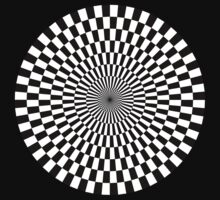 Op Art - Black and White by Artberry