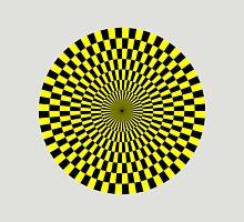 Op Art - Yellow and Black Unisex T-Shirt