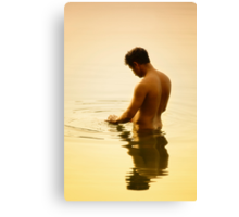 Cleansing Canvas Print