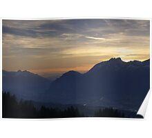 Tirol Mountains  Poster
