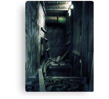 2.5.2010: Dust, Silence Canvas Print