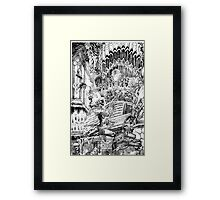 Music of Madness Framed Print