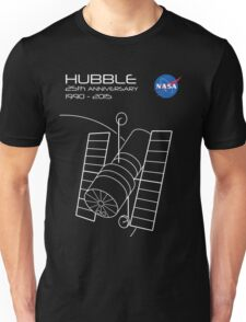 Hubble Telescope 25th Anniversary Unisex T-Shirt