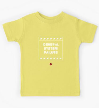 General System Failure Kids Tee