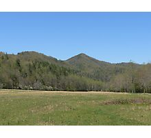 Cataloochee Valley,N.C. Photographic Print