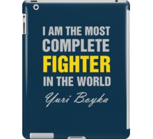 Yuri Boyka Quote iPad Case/Skin