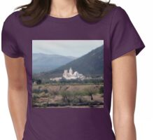 The White Dove of the Desert Womens Fitted T-Shirt