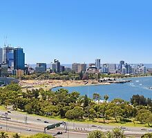 The City Of Perth WA -  Panorama  by Colin  Williams Photography