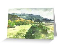 Carmel, California USA Greeting Card