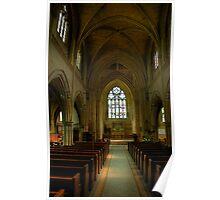 Wentworth Church Interior Poster