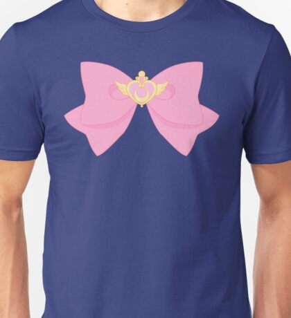 Pastel Sailor Moon Crisis Heart and Bow Unisex T-Shirt