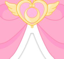 Pastel Sailor Moon Crisis Heart and Bow Sticker