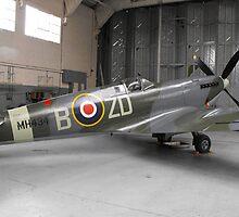 Spitfire mk ix(MH434) by Andy Jordan