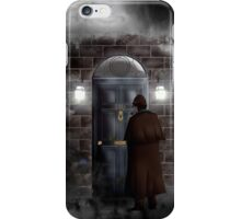 Haunted house Baker street 221b iPhone Case/Skin