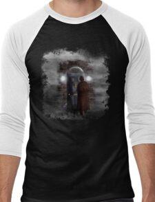 Haunted house Baker street 221b Men's Baseball ¾ T-Shirt