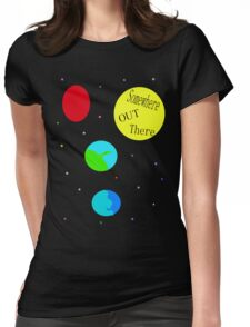 In a childs imagination. Womens Fitted T-Shirt
