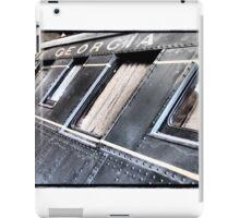 Georgia Steam iPad Case/Skin