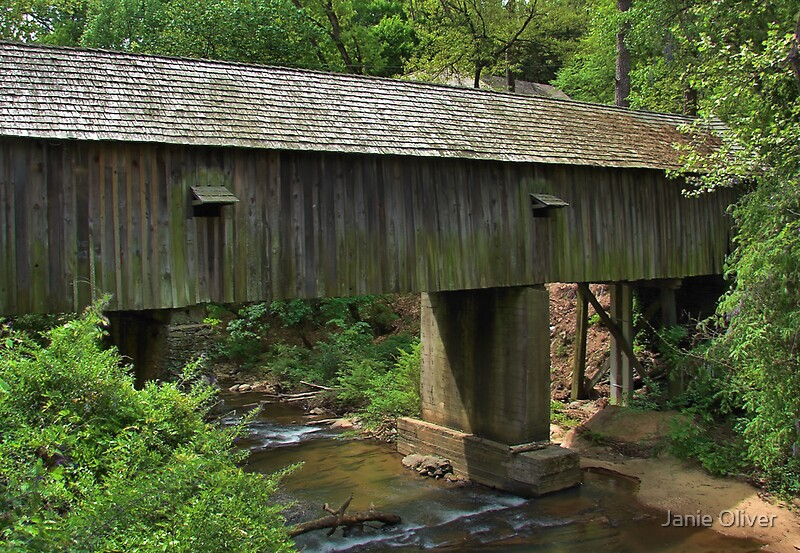 Concord Covered Bridge Spring 2010 By Janie Oliver