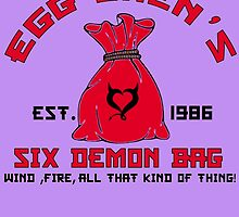 EGG SHEN'S SIX DEMON BAG by fancytees