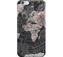 World Map antique iPhone Case/Skin