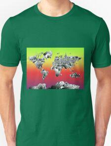 World Map landmarks 4 Unisex T-Shirt