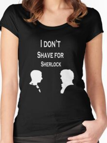 I don't Shave for Sherlock Women's Fitted Scoop T-Shirt