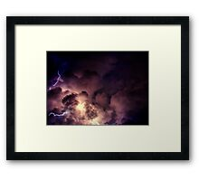 Rough Night Framed Print
