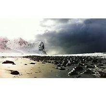 Lofoten beach Photographic Print