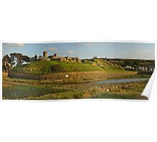 West Side Castle - Bude Poster