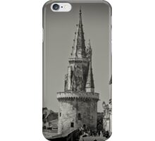 Tour de la Lanterne (Medieval Lighthouse) at La Rochelle, France #2 iPhone Case/Skin