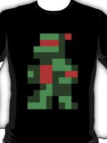 Funny 8 bit Turtle T-Shirt