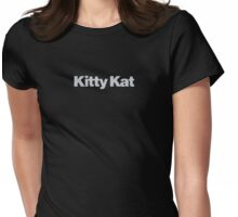 Pulp Fiction - Kitty Kat Womens Fitted T-Shirt